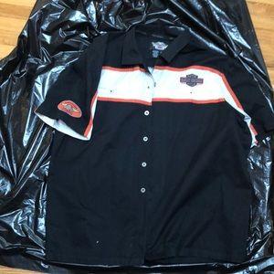 Harley Davidson men's short sleeve shirt 3XL